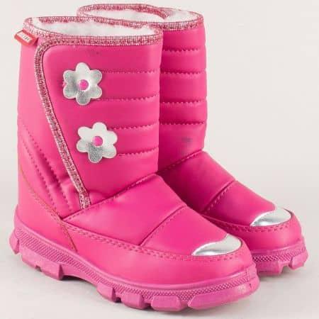 Розови детски спрески на комфортно ходило с лепка 053tck