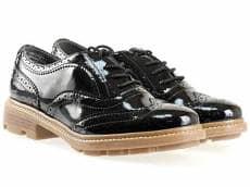 Немски дамски обувки Tamaris тип Оксфорд с връзки 1123700lch