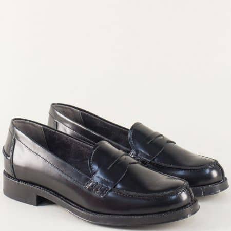 Дамски обувки- Aerosoles от черна естествена кожа 121016ch