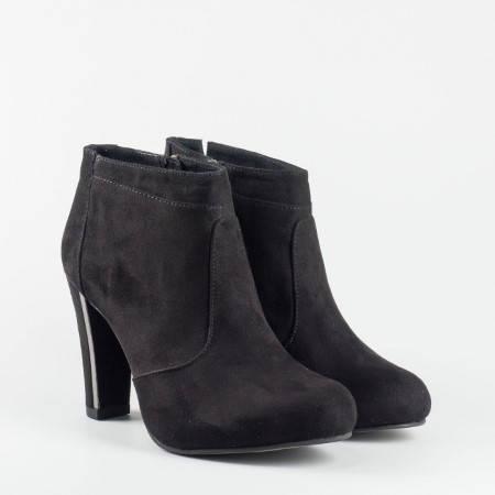Дамски боти на водещата немска фирма Tamaris в черен цвят 125052vch