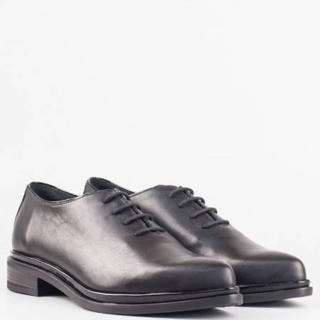 Дамски ежедневни обувки от 100% естествена кожа на известен български производител 2317ch