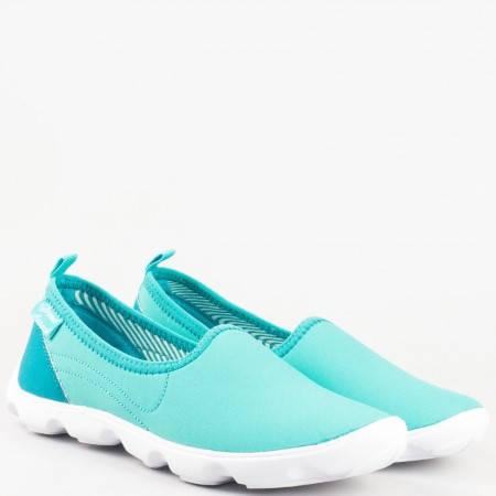 Комфортни дамски спортни обувки в син цвят- GRAND ATTACK 30101-40s