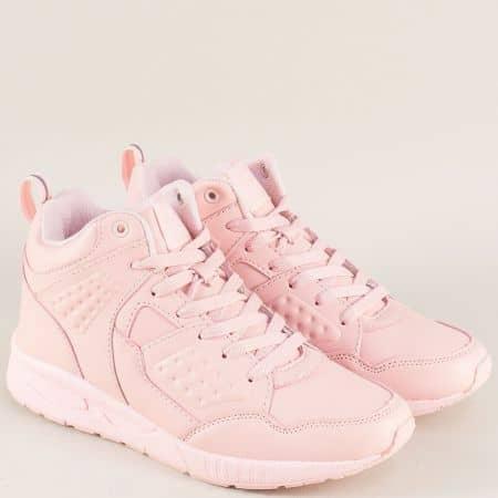 Дамски маратонки в розов цвят на комфортно ходило 30328-40rz