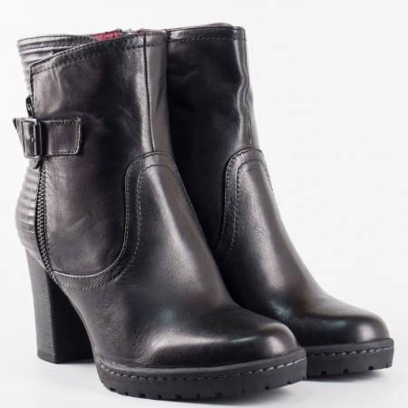 Дамски боти на водещият немски производител  S.Oliver в черен цвят  525338ch