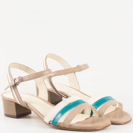 Дамски сандали за всеки ден изработени от висококачествена естествена кожа  6613ps
