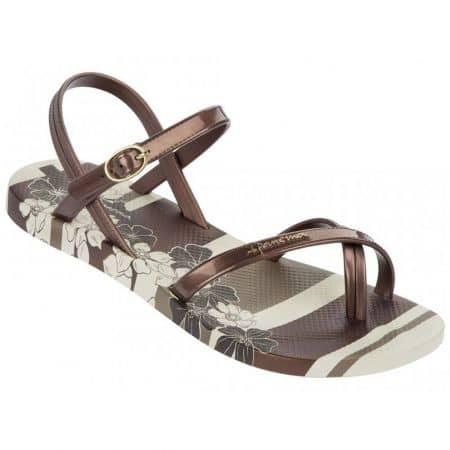 Модерни и комфортни дамски сандали Ipanema в кафяв цвят  8147421539