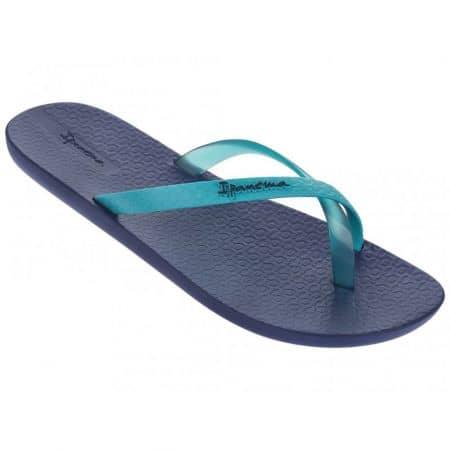 Сини дамски джапанки с лента между пръстите на бразилският производител Ipanema 8150123231