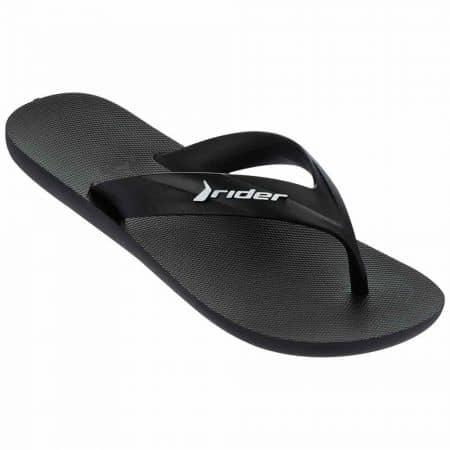 Мъжки джапанки изработени от висококачествен силикон на известната марка Ipanema в черен цвят 8166623376