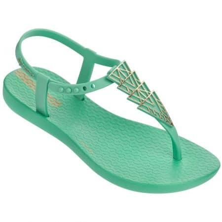 Детски сандали Ipanema на равно ходило в зелен цвят 8208422021