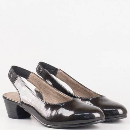 Дамски ежедневни обувки на известния немски производител Jana в черен цвят 829561lch