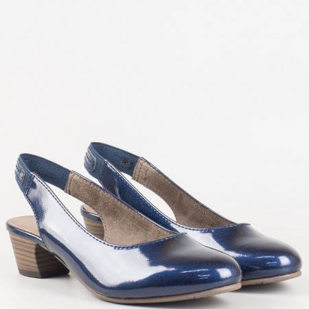 Дамски ежедневни обувки на гъвкаво ходило на немския известен производител Jana в син цвят 829561ls