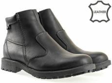 Mъжки боти в черен цвят на водещ български производител. 93154ch