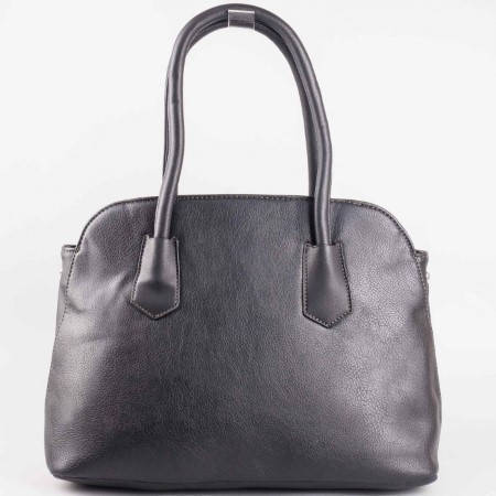 Дамска практична чанта на известната френска марка David Jones в черен цвят ch3947-2ch