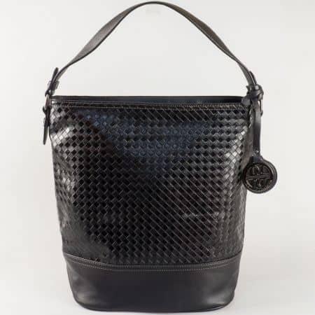 Стилна дамска чанта тип торба David Jones в черно ch5209-1ch