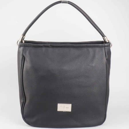 Ежедневна черна дамска чанта David Jones  cm3006ch