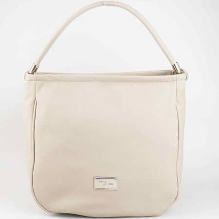 Ежедневна сива дамска чанта David Jones от еко кожа cm3006sv