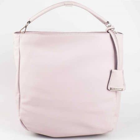 Красива розова дамска чанта David Jones cm3015rz