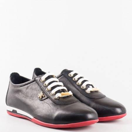 Дамски спортни обувки с ефектна визия n109ch