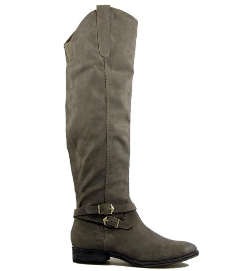 Дамски чизми на немския производител Tamaris с интересен акцент около глезена 125517vk