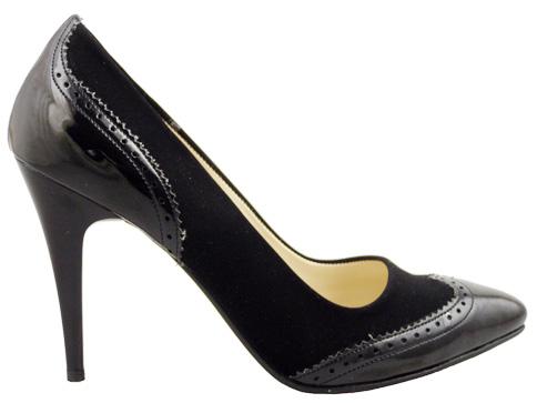 Иновативен модел дамски елегантни обувки  1517nch