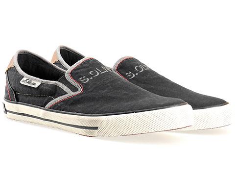 Сини мъжки обувки S.Oliver, изработени от текстил за удобство и комфорт 514602ch