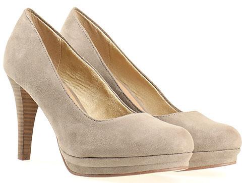 Немски дамски обувки Tamaris, комфортни и удобни, изработени от висококаяествен еко велур 122434sv