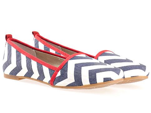 Дамски обувки Tamaris, изработени от висикокачествен текстил 124618s