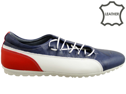 Мъжки спортни обувки със странични връзки, изработени от висококачествена естествена кожа 209s