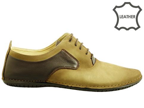 Мъжки обувки с моден дизай, изработени от 100% естествени материали m115nk