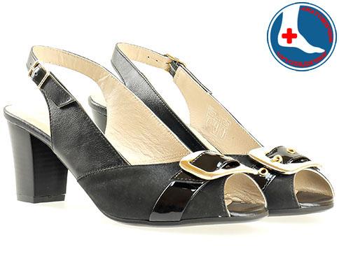 Дамски сандали на удобно анатомично ходило от изцяло естествена кожа на известната марка Naturelle z1651ch