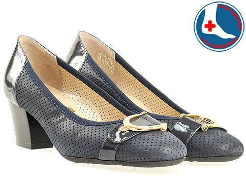 Анатомични и ортопедични дамски обувки Naturelle, изработени изцяло от естествена z76020s