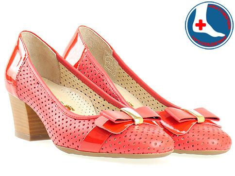 Анатомични дамски обувки Naturelle, италиански стил, изработени от естествена кожа z7605chv