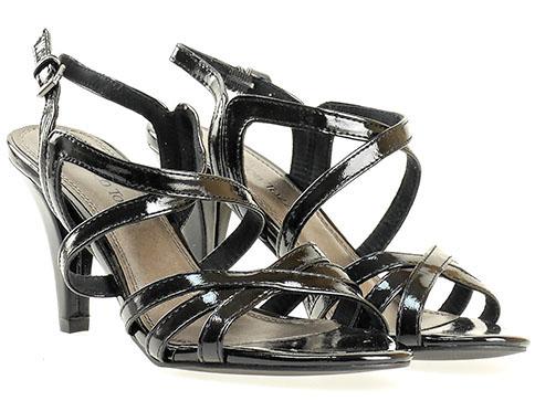 Немски дамски сандали в черно със стилен дизайн 228383lch