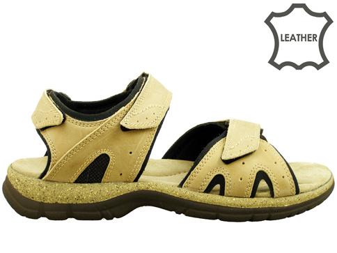 Анатомични мъжки сандали, произведени от доказан български производител в Пещера 7061bj