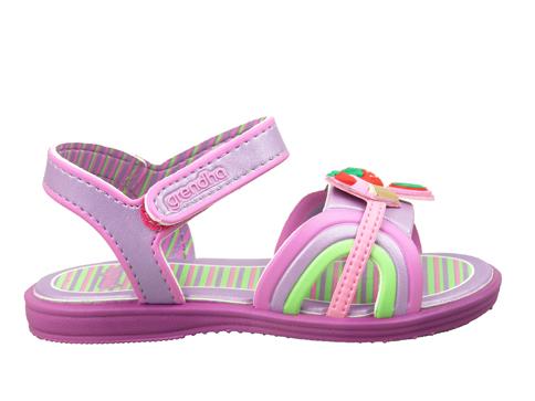 Бразилски детски сандали в свежи цветове с велкро лепенка 8070820504