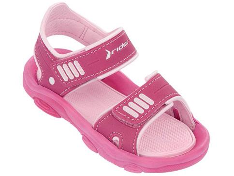 Удобни детски сандали Rider за момичета в розов цвят 8118820795