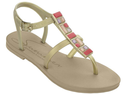 Модерни и комфортни детски сандали Ipanema  в златист цвят 8138790031
