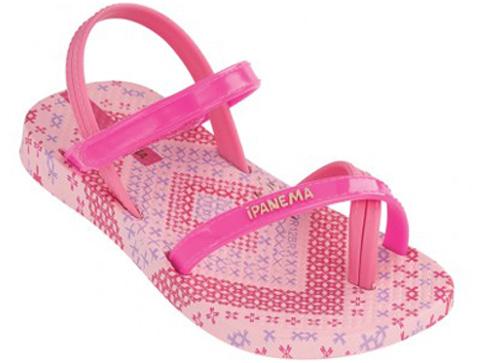 Детски бразилски сандали Ipanema в розово 8084020791