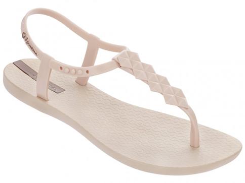 Модерни и комфортни  дамски сандали на световноизвестната бразилска марка Ipanema, изпълнени в бежов цвят 8145822535