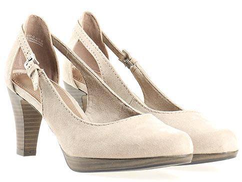 Дамски обувки от Marco Tozzi, в бежов цвят 2222406vbj