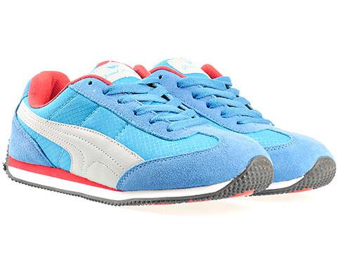 Качествени маратонки с комфортно ходило в син цвят, произведени за марката GRAND ATTACK 1977-40s
