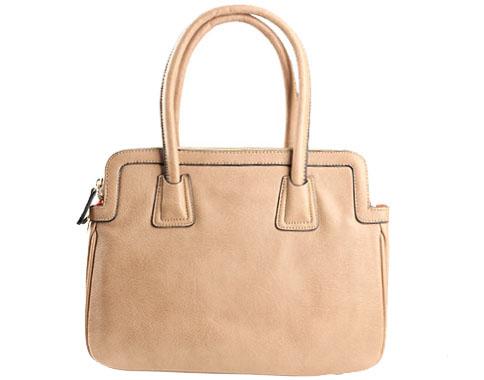 Стилна френска дамска чанта David Jones в светло кафяв цвят cm8033kk