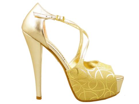Елегантни дамски обувки с интересна визия 4408zl