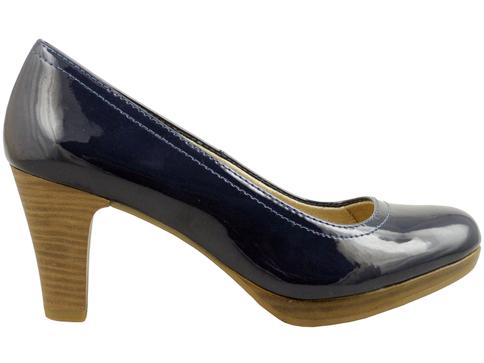 Класически модел немски комфортни обувки Tamaris с удобна платформа 1122435ls