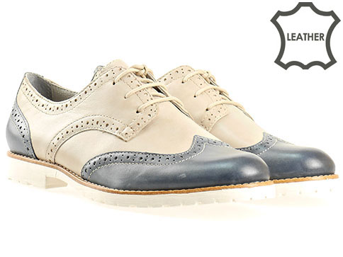 Комфортни обувки на немската фирма Tamaris, стилен модел изработен от естествена кожа 123200ps