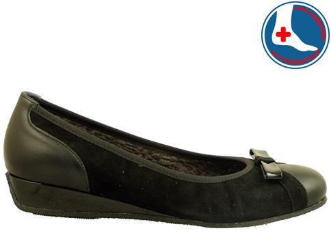 Анатомични дамски обувки Naturelle с интересна панделка z6056vch