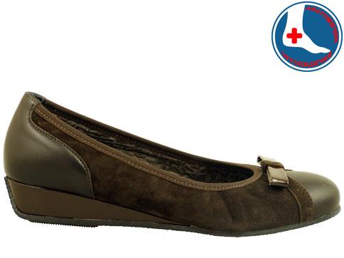 Анатомични дамски обувки Naturelle с интересна панделка z6056vk