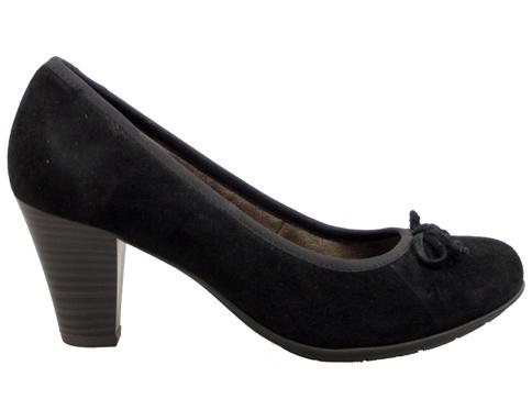Немски дамски обувки  JANA от естествен велур 822409vch