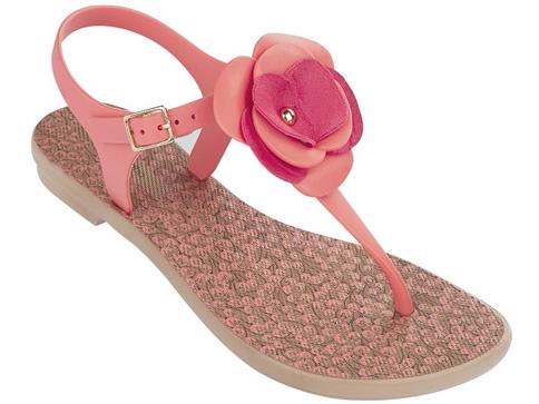 Модерни бразилски дамски сандали с ленти между пръстите Grendha 8127821399