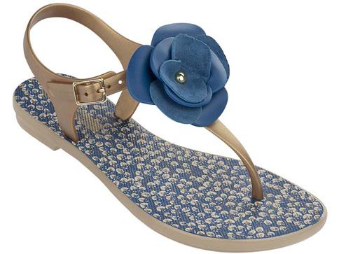 Модерни бразилски дамски сандали с ленти между пръстите Grendha 8127822769